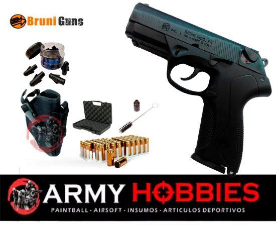 Pistola de fogueo Bruni P4