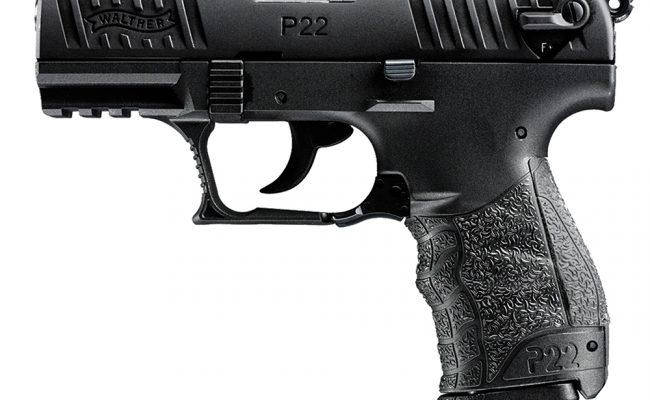 Pistola de fogueo Walther P 22 (1)