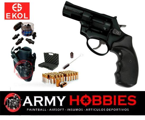 Ekol Viper 2.5 revolver Negro