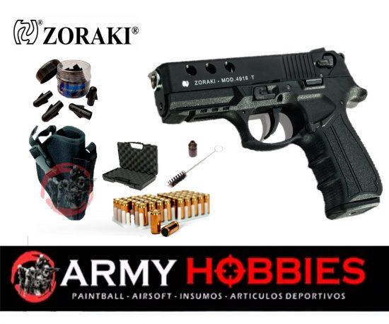 Pistola de fogueo ZORAKI 4918