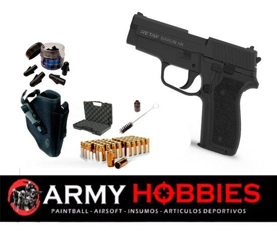 Pistolas de fogueo Retay Baron