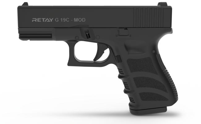 Pistolas de fogueo Retay G19 C Cal 9mm (1)