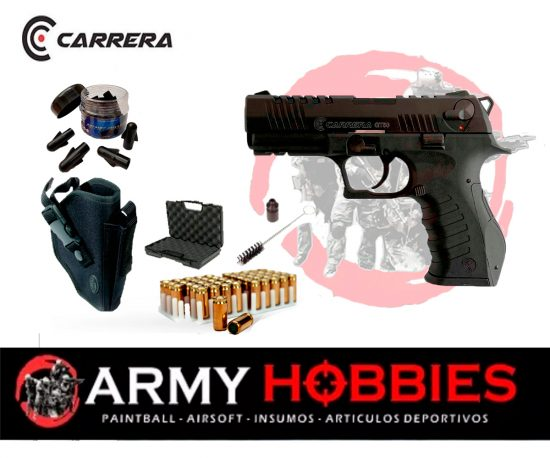 Pistola de fogueo Carrera GT50 Tactical